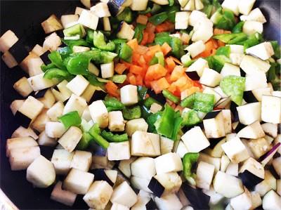 ラム肉のドライカレー 野菜