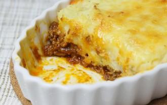 イギリス風 羊ひき肉とマッシュポテトの重ね焼き(シェファーズパイ)