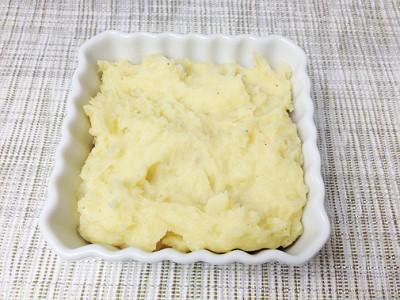 イギリス風 羊ひき肉とマッシュポテトの重ね焼き(シェファーズパイ) マッシュポテト
