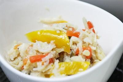 ささ身と彩り野菜のサラダ