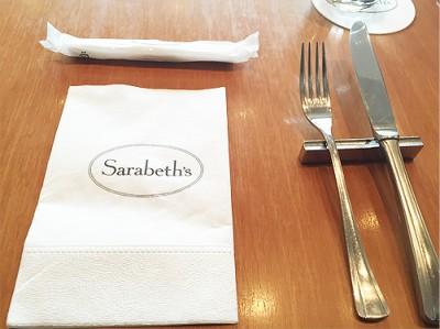サラベス(Sarabeth's)品川店で食事