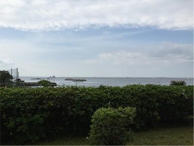 観音崎京急ホテル 外の景色