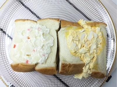 サンドイッチ2つ