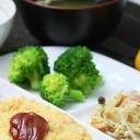 タニタ 鶏ささみのピカタ定食
