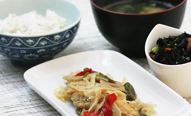美健倶楽部 ダイエット宅配食 魚の南蛮漬けセット